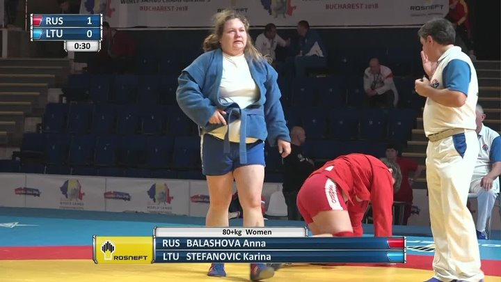 LIVE. World SAMBO Championships 2018. Day 3. Mat 1