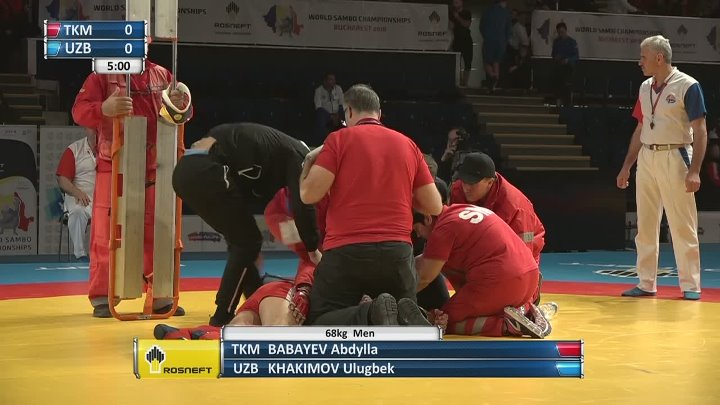 LIVE. World SAMBO Championships 2018. Day 3. Mat 2