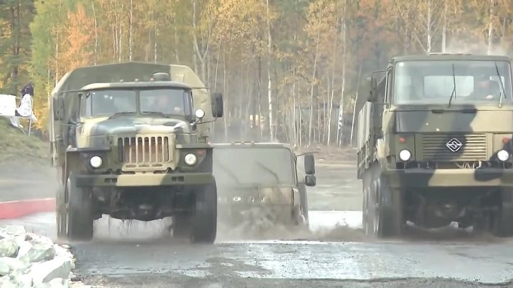 Russia Arms Expo 2013 - Military Assets Live Firing Demonstration [1080p].mp4