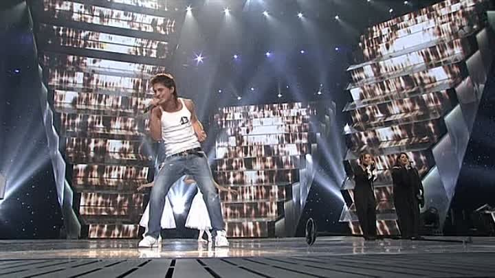 Dima Bilan - Never Let You Go - XviD [Russia.live.at.Eurovision.Semifinal.2006-05-18]