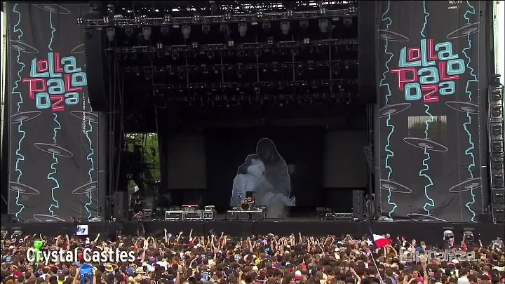 Crystal Castles - Lollapalooza Chicago Live 2013
