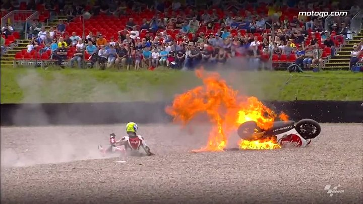 MotoGP™ Sachsenring 2014 -- Biggest crashes