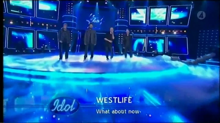 Westlife - What About Now (Live @ Idol)