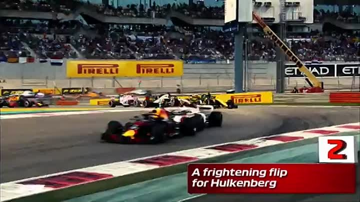 Top Five Moments 2018 Abu Dhabi Grand Prix