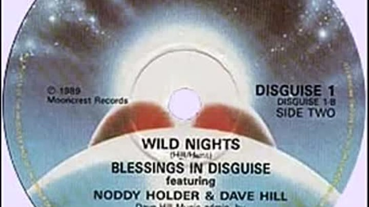 Blessings In Disguise - Wild Nights (1989)