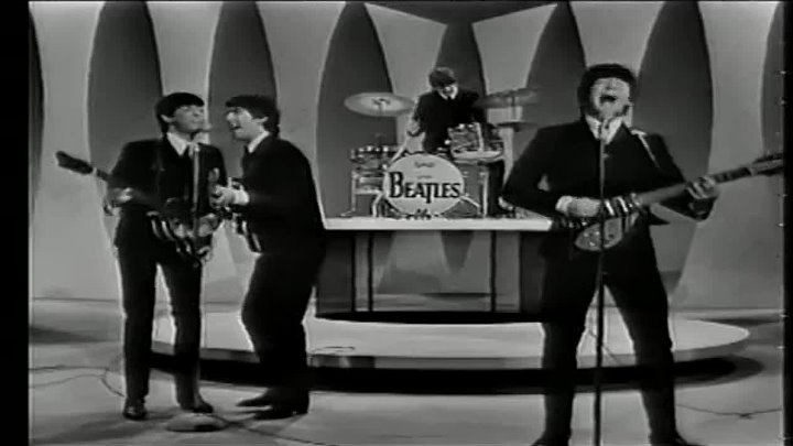 The Beatles - Twist & Shout - Performed Live On The Ed Sullivan Show 2_23_64
