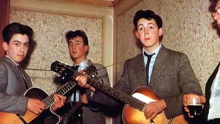 The Beatles (Quarrymens) - Come go with Me - 1957