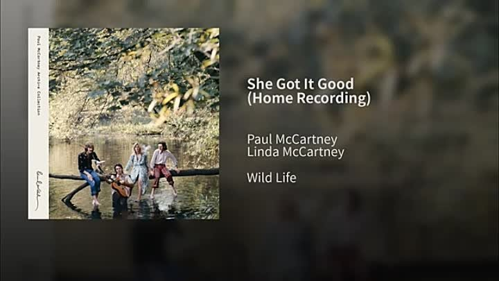 Paul McCartney - She Got It Good -1971