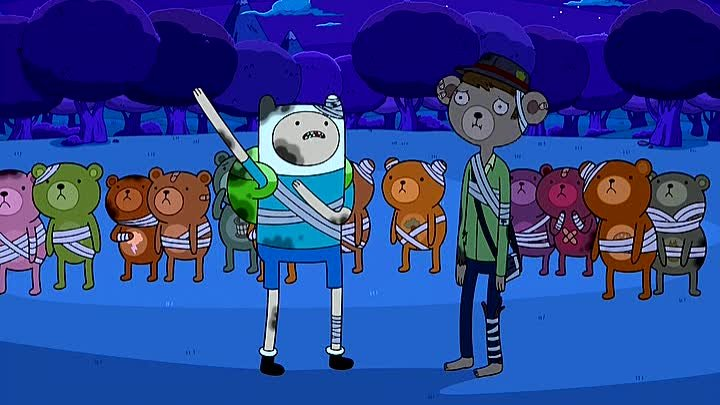 Adventure.Time.S02.E21. Брюхо зверя (Belly of the Beast)