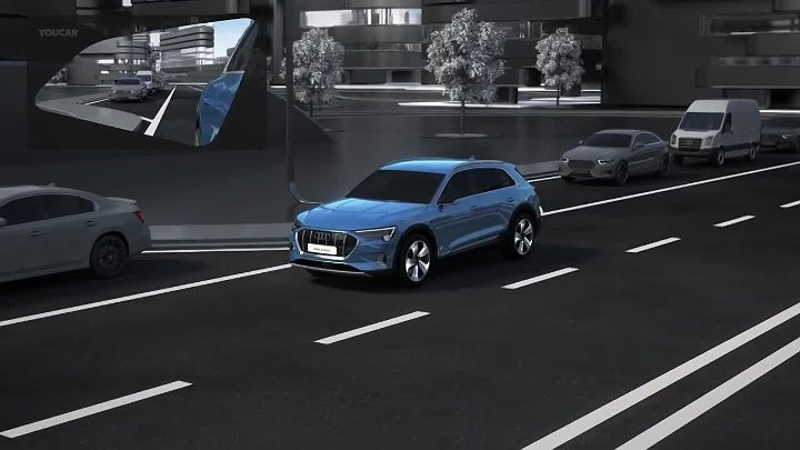 Virtual Exterior Mirrors of the 2019 Audi e-tron SUV – How it work –_HD.mp4