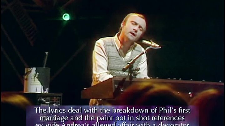 Phil Collins - In The Air Tonight (Top Of The Pops 1981)
