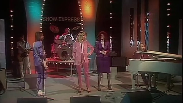 ABBA - Super Trouper - On and On (Show Express ZDF German TV '80)