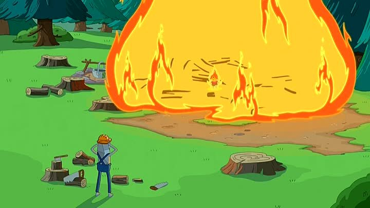 Adventure.Time.S05.E32. Земля и вода (Earth & Water)
