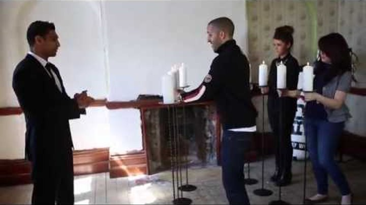 Amir Khan Punches Out 8 Candles On Set With RDX