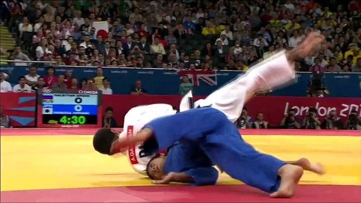 THROWBACK DAY 1 OLYMPIC GAMES 2012 - JudoHeroes