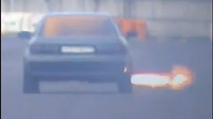 Audi 90 Quattro Turbo Vs. Ford Escort Cosworth Drag Race