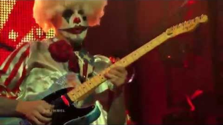 Rob Zombie We're an American Band Jimmy Kimmel Halloween 2013