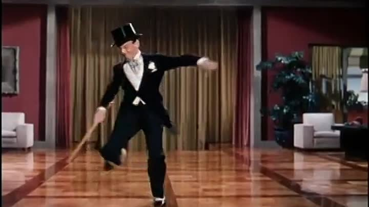 Fred Aster 'Puttin' on the Ritz'.