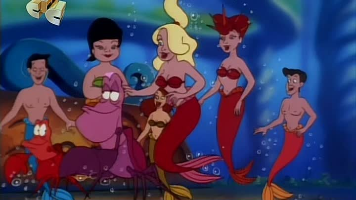 S02.e07. Русалочка (сериал) / The Little Mermaid [1992 – 1994]