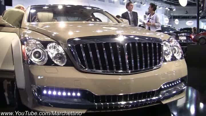 Maybach Xenatec 57S Sound - Start, Rev and Driving