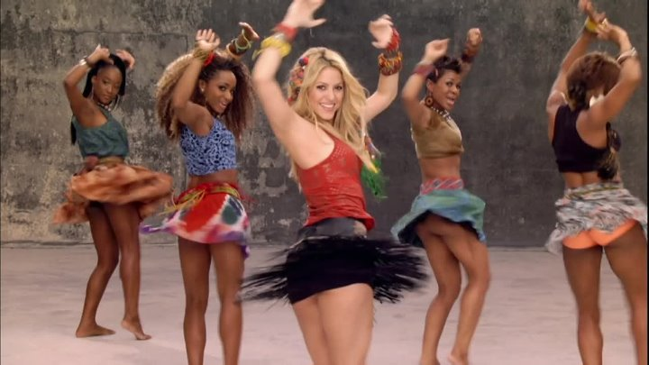 Shakira feat. Freshlyground - Waka Waka (This Time for Africa) - 2010 - Official 2010 FIFA World Cup™ Video - Full HD 1080p - группа Танцевальная Тусовка HD / Dance Party HD