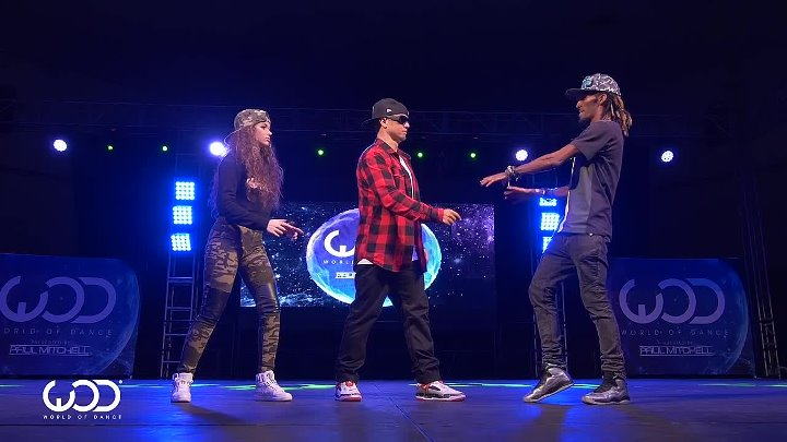 Marquese Scott, Dytto, Poppin John _ FRONTROW _ World of Dance Los Angeles 2015