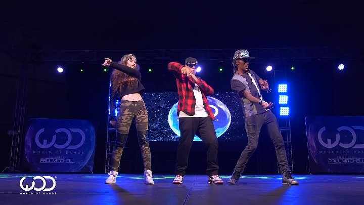 Nonstop, Dytto, Poppin John @ World of Dance Los Angeles   Music Planet