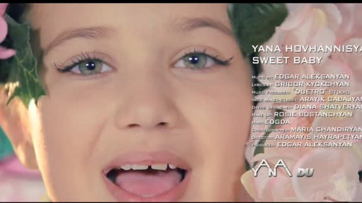 "Yana Hovhannisyan - Sweet Baby "" Official Video """