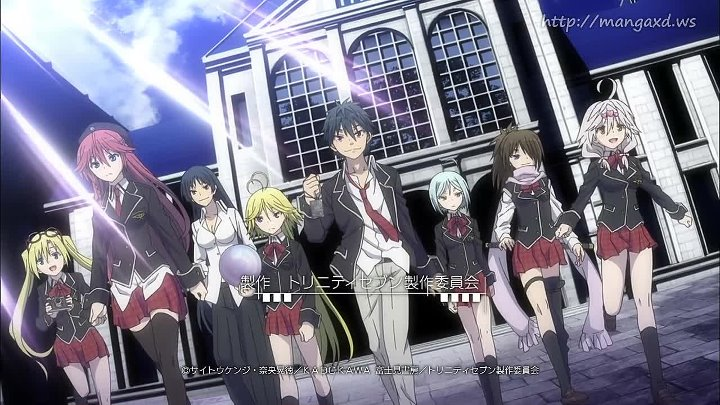 [WwW.VoirFilms.org]-Trinity Seven - 12 FIN VOSTFR
