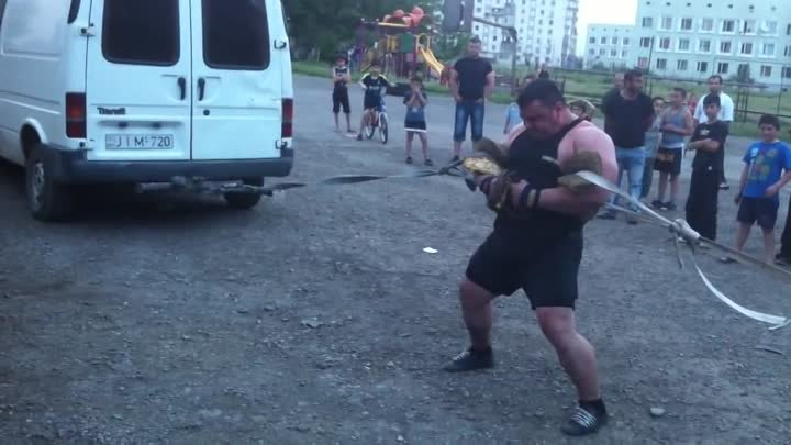 Georgia 'taxi' - Strongman Superhuman 2014 ტახი