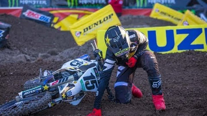 The Biggest Supercross Crashes 2018 | Part 1