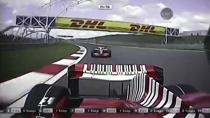 F1 Top 15 Overtakes 2008
