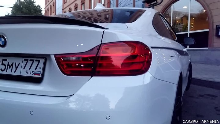 BMW 4 Series M Performance - Car-Spotting in Yerevan #3