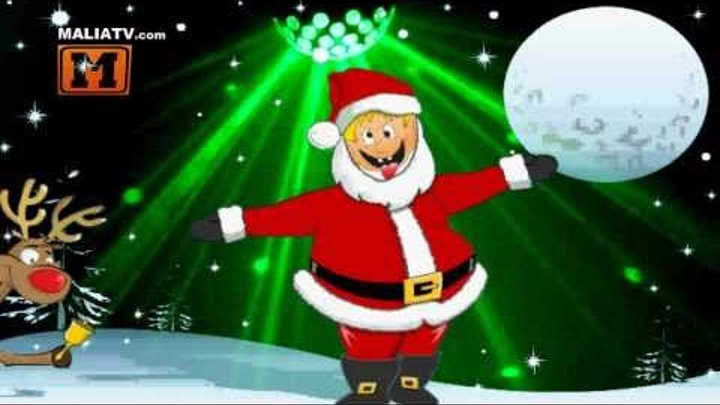 Merry Christmas and Happy New Year (Funny Dance Bboy Santa Claus Video Card)