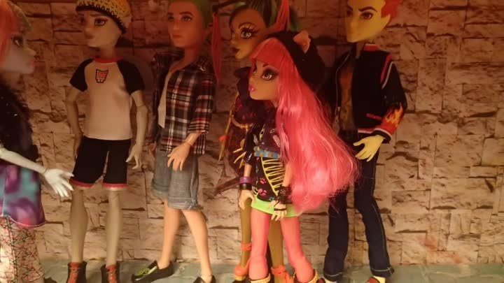 Stop motion monster high# Кража века 11.