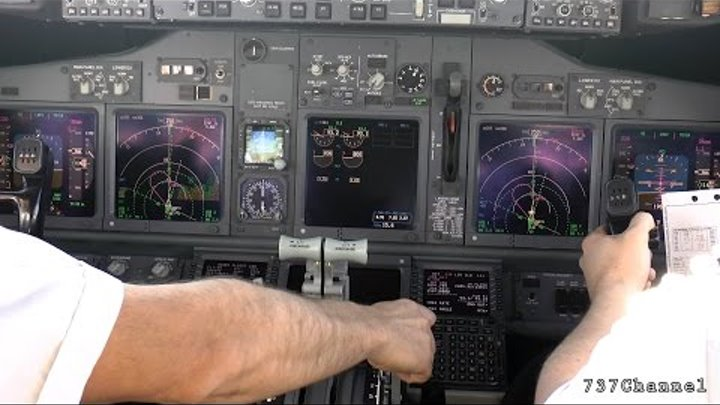 Join the flight crew of a Boeing 737. Enjoy the ride - Episode 11