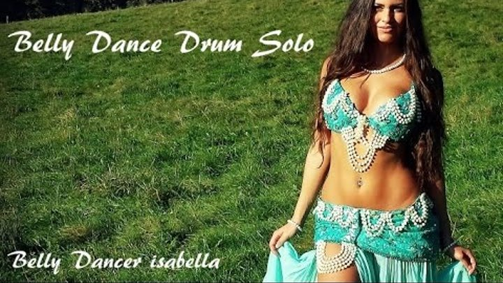 *Isabella Belly Dance Drum Solo by Sadie and Kaya* HD