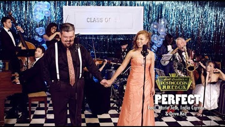 Perfect Duet - Ed Sheeran / Beyonce ('50s Prom Cover) ft. Mario Jose, India Carney & Dave Koz