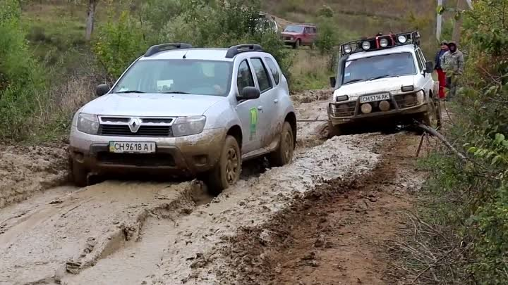► НИВА vs Renault Duster [Off-Road 4x4] #1