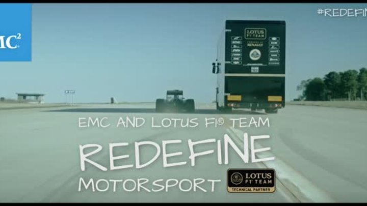 See the World-Record Lotus Truck Jump Team at EMC World 2015