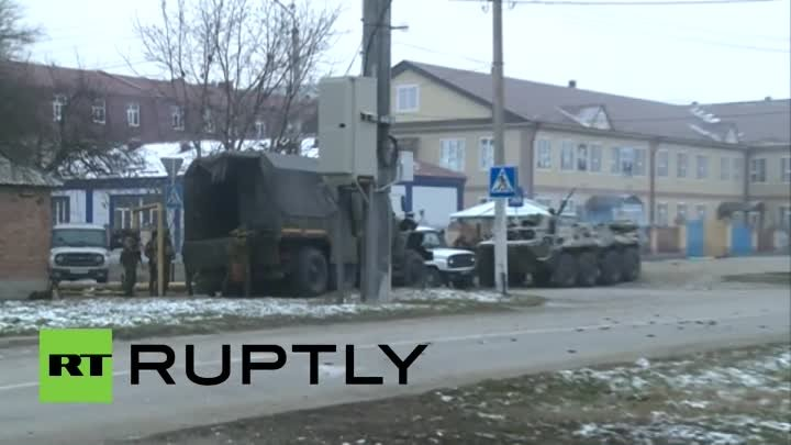 Chechnya terror attack: Heavy fighting in Grozny, fierce shootout (EXCLUSIVE)