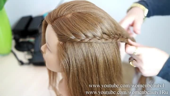 Holiday Braided Hairstyle for Medium Long Hair. Thanksgiving Hairstyles