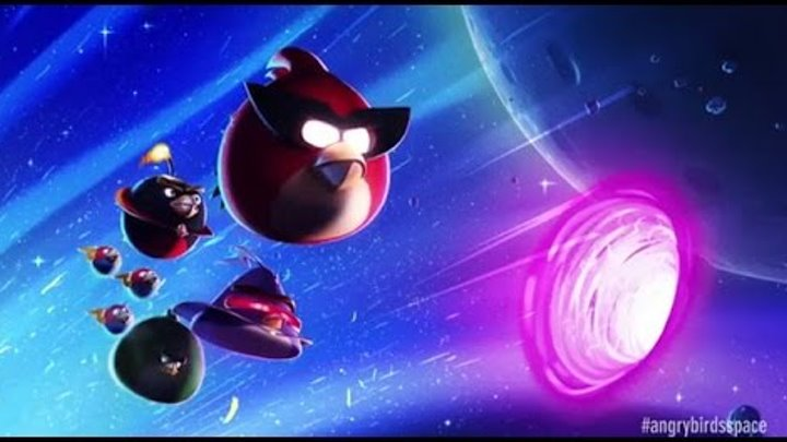 ЭНГРИ БЕРДС по русски Angry Birds Space Beak Impakt глава 7-1 прохождение игры