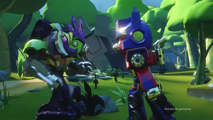 Angry Birds Transformers - Cinematic Trailer (Comic-Con)