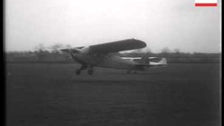 Plane With Single-Blade Propeller.
