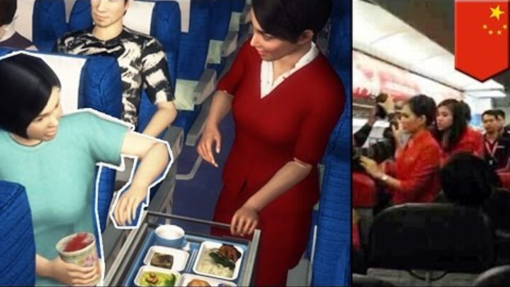 Chinese manners fail: attacks stewardess, threatens to blow up plane over instant noodles