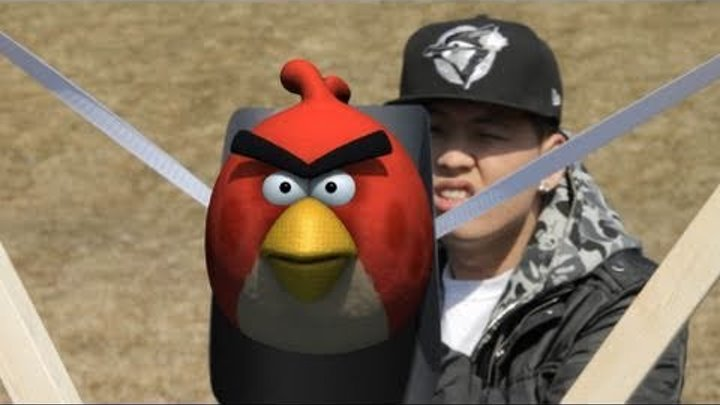 Angry Birds Real Life - Interactive 3D Animated Film