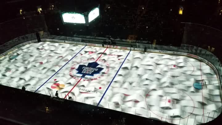 On Ice Projection: Leafs vs. Hurricanes