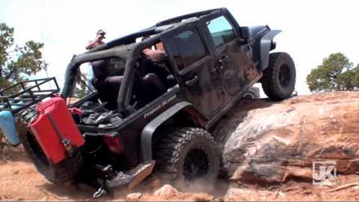 MOAB : Pilgrimage to the Promised Land (Part 4 of 6 -- Metal Masher Jeep Trail)