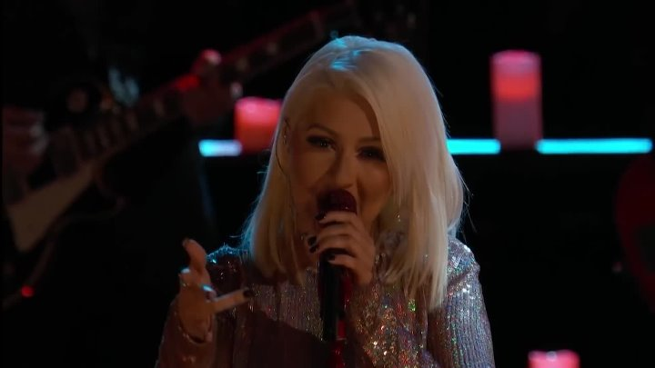 The Voice 2015 - Blake, Adam, Pharrell & Christina The Thrill Is Gone ( The Voice USA )